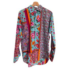 Etro-ETRO SHIRT-Pink,Multiple colors,Orange,Purple