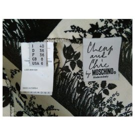 Moschino Cheap And Chic-MOSCHINO Jupe Longue-Multicolore