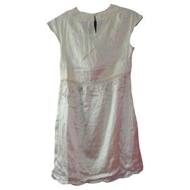 See by Chloé-See by Chloe silk dress 36 New label-Eggshell