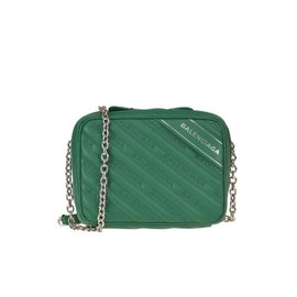 Balenciaga-Camera Bag-Green