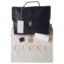 Gucci-Sacs-Bleu Marine