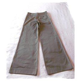 Comme Des Garcons-Pantalon Comme des Garcons-Kaki