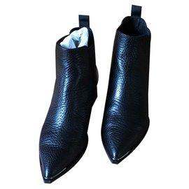 Acne-Jensen Boots-Black