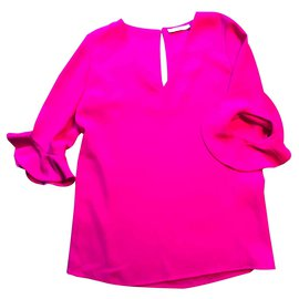Zapa-blouse ZAPA rose fushia-Rose