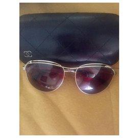 Chanel-lunettes Chanel-Doré
