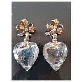 Yves Saint Laurent-Yves saint-Laurent boucles d'oreilles vintage-Autre