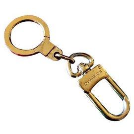 Louis Vuitton-key ring-Golden