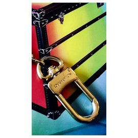 Louis Vuitton-key ring-Golden