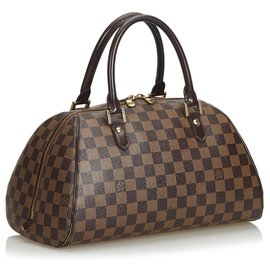 Louis Vuitton-Louis Vuitton Brown Damier Ebene Ribera MM-Brown