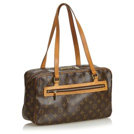 Louis Vuitton-Louis Vuitton Brown Monogram Cite GM-Marron