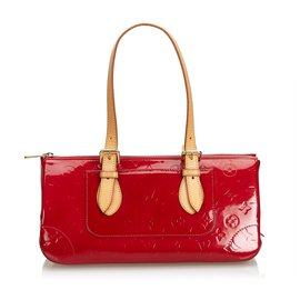 Louis Vuitton-Louis Vuitton Palissandre Rouge Vernis-Rouge