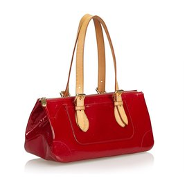 Louis Vuitton-Louis Vuitton Red Vernis Rosewood-Red