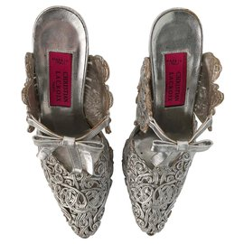 Christian Lacroix-Mules-Silvery