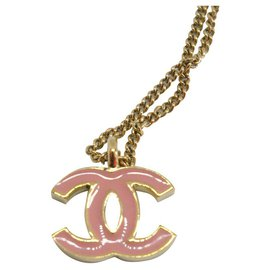 Chanel-Colliers-Rose,Jaune