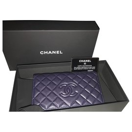 Chanel-Chanel purse-Dark blue