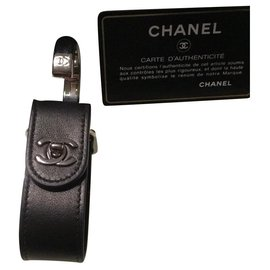 Chanel-Portable handbag hook-Black