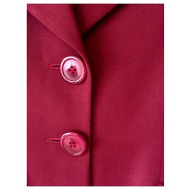Christian Dior-Dior limited edition jacket-Dark red