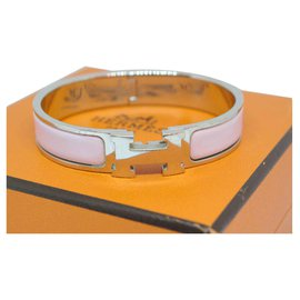 Hermès-Klicken Sie auf H-Silber,Pink
