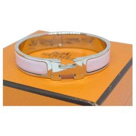 Hermès-Click H-Silvery,Pink