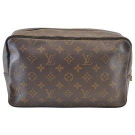 Louis Vuitton-Louis Vuitton Trousse Maquillage-Marron