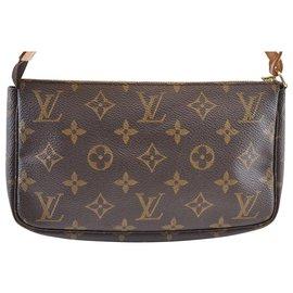 Louis Vuitton-Louis Vuitton Pochette Accessoires-Marron
