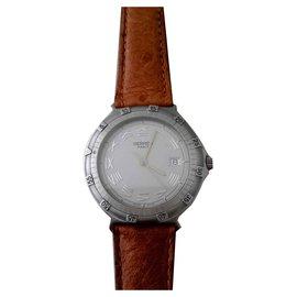 Hermès-Nemo watch-Silvery