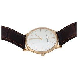 "Vacheron Constantin-Vacheron Constantin watch,""Patrimony"", Rose gold, Leather.-Other"