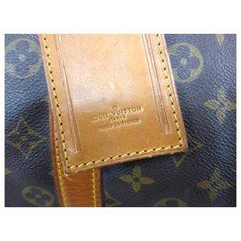 Louis Vuitton-KEEPALL 55 MONOGRAM-Marron