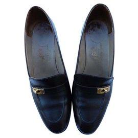 Hermès-john lobb-Dark brown