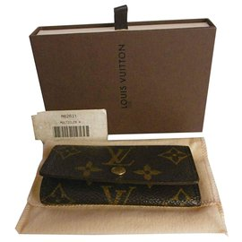Louis Vuitton-Louis Vuitton Multicles Key Wallet-Brown,Multiple colors