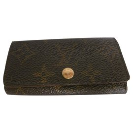 Louis Vuitton-Louis Vuitton Multicles Key Wallet-Multiple colors