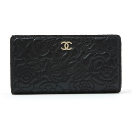 Chanel-CAMELIA BLACK NEW-Black