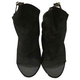 Balenciaga-Sandales-Noir