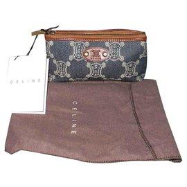Céline-Purses, wallets, cases-Blue,Dark brown
