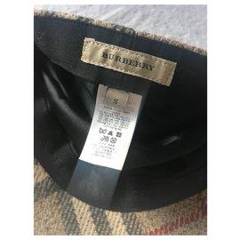 Burberry-Hats-Beige