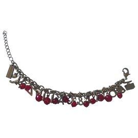 Dolce & Gabbana-Bracelets-Rouge,Doré