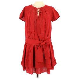 Comptoir Des Cotonniers-Robe-Rot