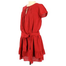 Comptoir Des Cotonniers-robe-Red