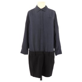 Maje-robe-Navy blue