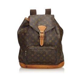 4b46aec91aac Louis Vuitton-Louis Vuitton Brown Monogram Montsouris GM-Brown ...