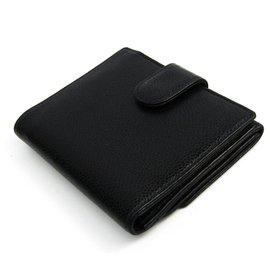 Chanel-Chanel Black Caviar Bi-fold Wallet-Black