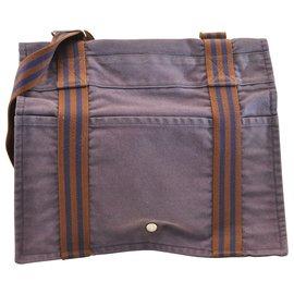 Hermès-Hermès Fourre Tout-Purple