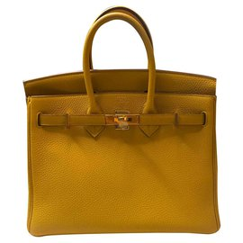 Hermès-Birkin-Yellow
