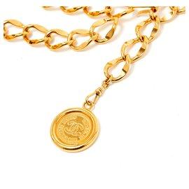 Chanel-GOLDEN CHAIN T85/90-Golden