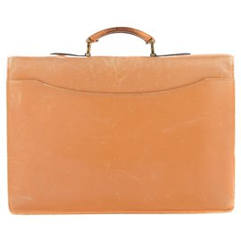 St Dupont-Beautiful vintage St Dupont binder in bi-leather gold in good condition!-Golden