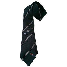 Louis Vuitton-Cravates-Bleu,Autre
