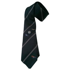 Louis Vuitton-Ties-Blue,Other