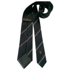 Louis Vuitton-Krawatten-Blau,Andere