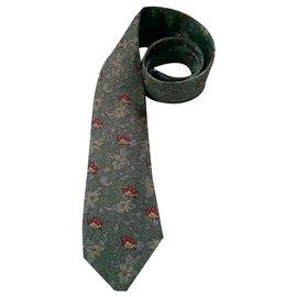 Hermès-Cravates-Vert