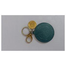 Louis Vuitton-Charmes de sac-Turquoise